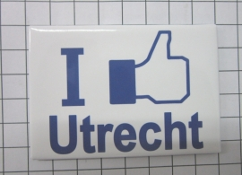 koelkastmagneet I like Utrecht N_UT1.013