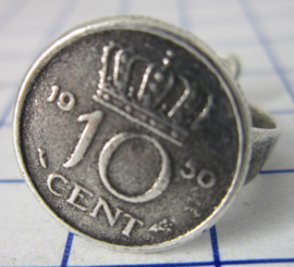 ring 10cent 1950