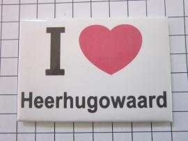 008 Magneet I love Heerhugowaard