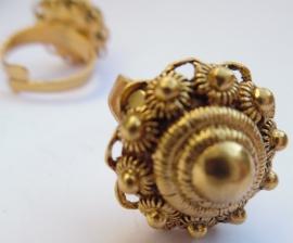 zeeuwse knop ring zkr304-G   EAN= 0087184814661