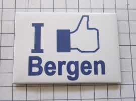koelkastmagneet I like Bergen  N_NH6.002
