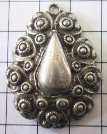 50 % korting Zeeuwse knopjes hanger met pegel ZB059