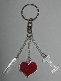 SLE 106 sleutelhanger i love amsterdam