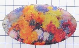HAO 322 haarspeld 8 cm bloemen Vincent van Gogh