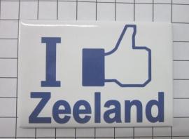koelkastmagneet Zeeland MAC:28.002