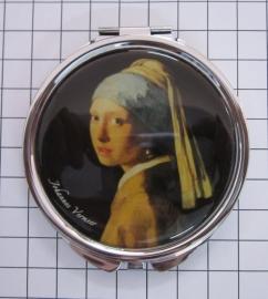 SPI 209 spiegeldoosje meisje met parel Vermeer