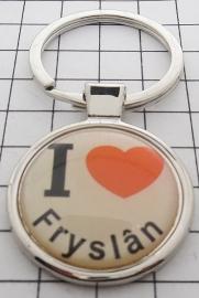 SLE_FR1.001 Sleutelhanger I love Fryslan