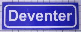 koelkastmagneet plaatsnaambord Deventer P_OV4.0002