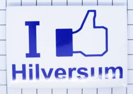 koelkastmagneet I like Hilversum N_NH16.002