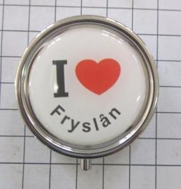pil 037 pillendoosje ik hou van Fryslan