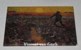 MAC: 20.416 Koelkast magneet Vincent van Gogh, veld
