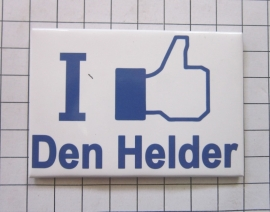 koelkastmagneet I like Den Helder  N_NH8.002