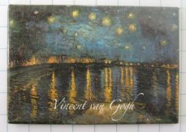 MAC : 20.412 Koelkastmagneet Vincent van Gogh sterrennacht