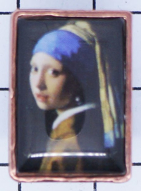 PIN 302 pin meisje parel van Johannes Vermeer
