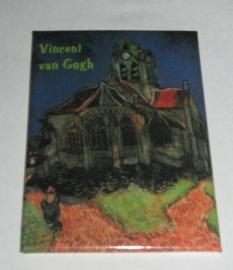 MAC: 20.405 Koelkastmagneet Vincent van Gogh, kerk