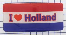 HAR 322 Haarspeld Nederlandse vlag ik hou van Holland