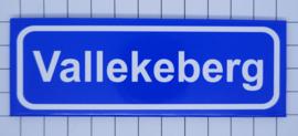 koelkastmagneet plaatsnaambord Vallekeberg P_LI2.0006