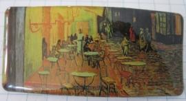 HAR 203 Haarspeld rechthoek cafe Vincent van Gogh