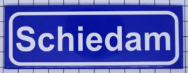 koelkastmagneet plaatsnaambord Schiedam P_ZH8.0001