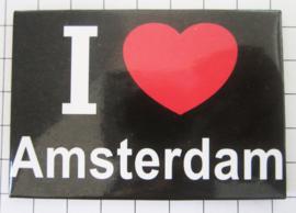 koelkastmagneet I love  Amsterdam 20.002