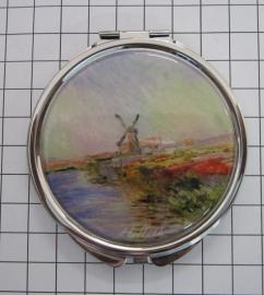 SPI 001 spiegeldoosje molen Monet
