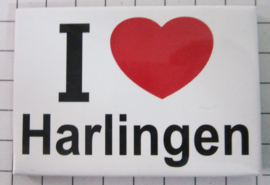 koelkastmagneet I ♥ Harlingen N_FR7.001