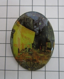 BRO 804 broche cafe Vincent van gogh