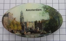 Haarspeld ovaal HAO 314 munttoren Amsterdam