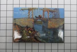 MAC: 20.417 Koelkast magneet Vincent van Gogh