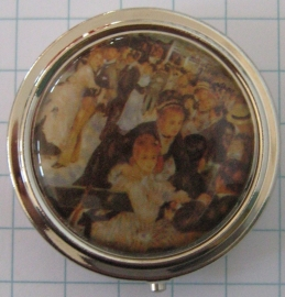pil 130 pillendoosje met spiegel bal van Auguste Renoir