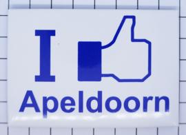 koelkastmagneet I like Apeldoorn N_GE5.004