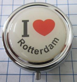PIL_ZH1.001 pillendoosje I love Rotterdam