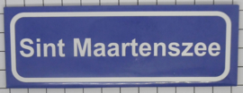 koelkastmagneet plaatsnaambord Sint Maartenszee P_NH23.3001