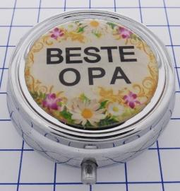 PIL 090 pillendoosje met spiegel beste opa