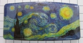 Haarspeld rechthoek HAR409 sterrennacht Vincent van Gogh