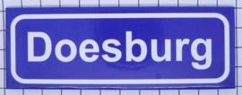 koelkastmagneet plaaatsnaambord Doesburg P_GE7.0001