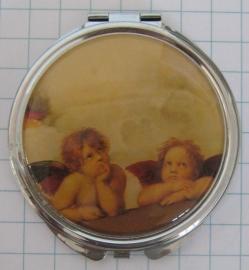 SPI 101 spiegeldoosje engeltjes Raphael