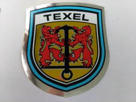sticker wapenschild Texel met wapen Texel