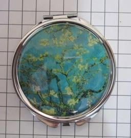 SPI 217 spiegeldoosje amandelbloesem Vincent van Gogh