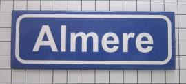 koelkastmagneet plaatsnaambord Almere P_FL1.0001