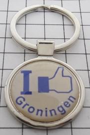SLE_GR1.002 Sleutelhanger I like Groningen