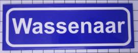 koelkastmagneet plaatsnaambord Wassenaar P_ZH14.0001
