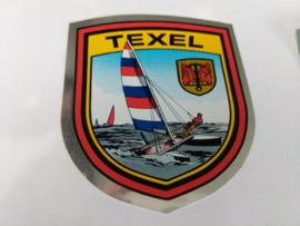 sticker wapenschild Texel