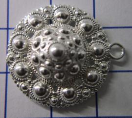 ZB201-Z Zeeuwse Knop hanger echt Zilver