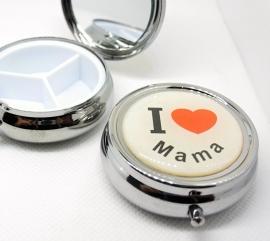 Pillendoosje I love mama (moederdag cadeau tip) EAN 8718481420034 geplaatst
