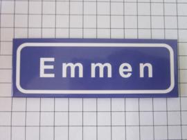 Koelkastmagneet plaatsnaambord Emmen P_DR1.0001