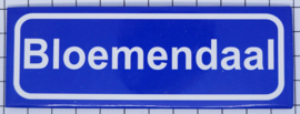 koelkastmagneet plaatsnaambord Bloemendaal P_NH21.0001