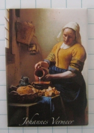 MAC:20.301 koelkastmagneet melkmeisje Johannes Vermeer
