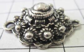 Bolle Zeeuwse knop 2 cm tweeoog ZB034