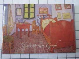 MAC: 20.406 Koelkast magneet Vincent van Gogh